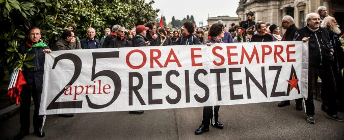25 aprile, giù le mani dalla Festa della Liberazione