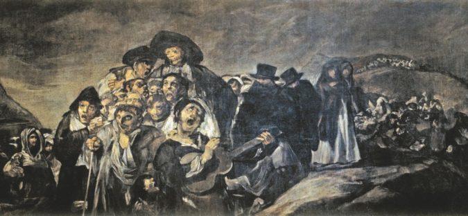 """La testa perduta di Goya e l'enigma delle """"Pitture nere"""""""