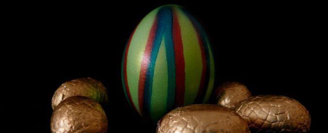 Care aziende, l'anno prossimo ci fate trovare l'uovo di Pasqua fondente per i bambini?