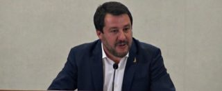 """Siri indagato, Salvini: """"Si sciacqui la bocca chi accosta Lega e mafia. Conte? Non mi ha chiesto sue dimissioni"""""""