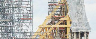 Notre-Dame: mozziconi e un filo elettrico di troppo