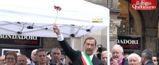 """25 aprile, Sala: """"Salvini dica che Resistenza non gli interessa, non cerchi scuse"""". Il corteo: """"Non meritiamo ministro così"""""""