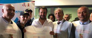 """25 aprile, Salvini in Sicilia cambia i toni: """"Antifascismo valore fondante? Sì. Oggi giornata di unione e pacificazione"""""""