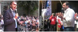 Di Maio contro Salvini e Lega: da legittima difesa a famiglia, da autonomie alle giunte regionali. Gli attacchi dal palco