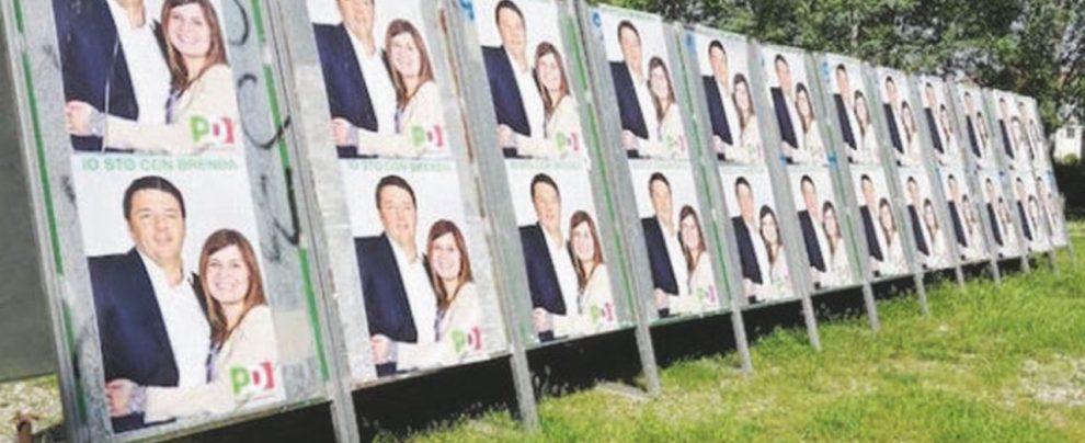 Spot-fake con Renzi, sindaca Pd li cancella