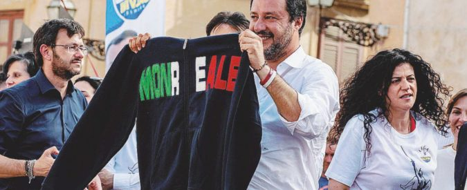 """Corleone s'inchina a Salvini: """"Vogliamo pane e sicurezza"""""""