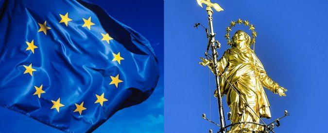 Ue, la bandiera nasconde i simboli dell'Immacolata. Un libro svela il segreto delle 12 stelle