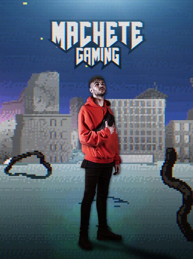 Machete Crew lancia il suo nuovo progetto: tra videogame e streaming, in collaborazione con RedBull