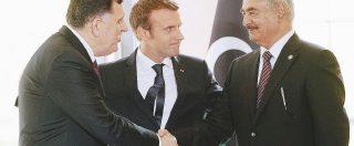 Haftar minaccia l'Italia. Sarraj scarica la Francia
