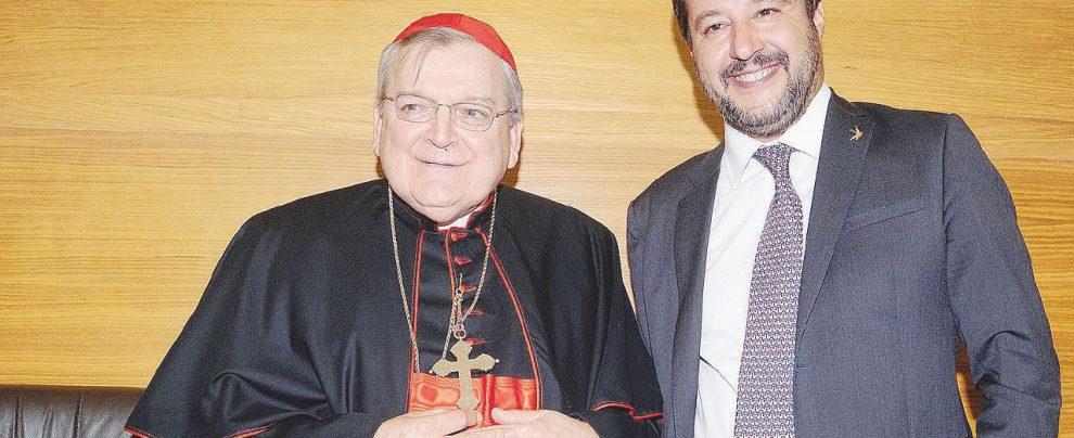 Arata, Salvini e la passione comune per il cardinal Burke