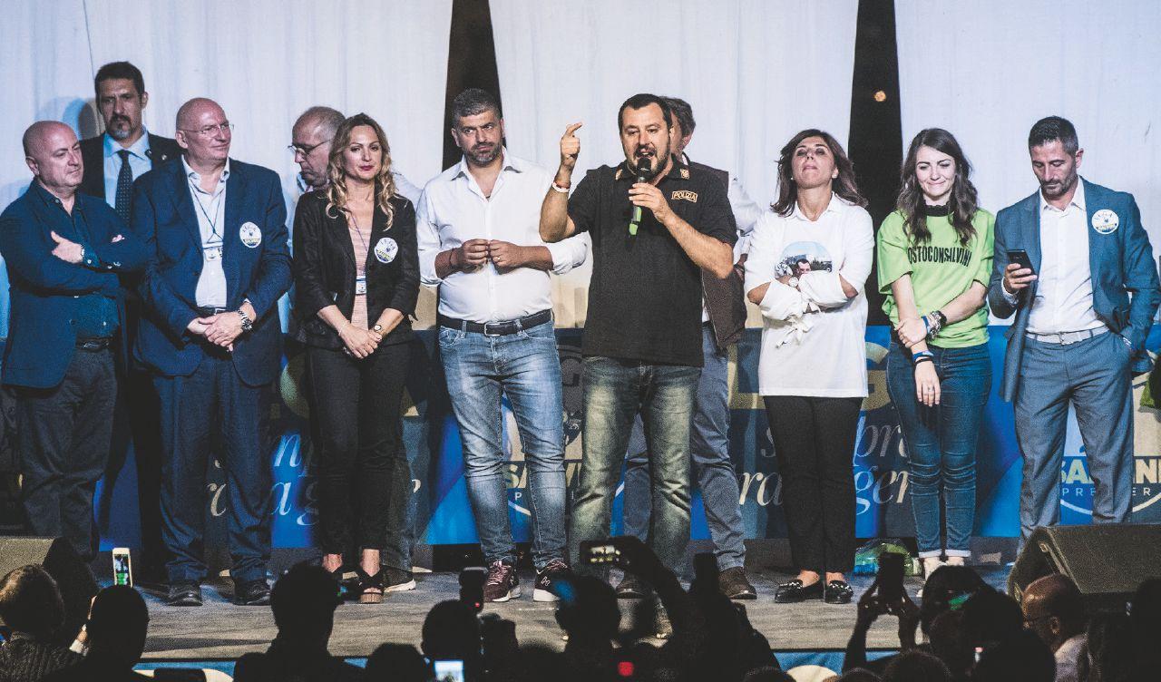 """In Edicola sul Fatto Quotidiano del 27 Aprile: """"Rom per Salvini"""" Inchiesta sui boss e la Lega nel Lazio"""