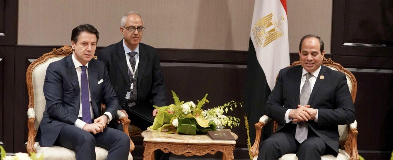 """Regeni, premier Conte ad Al Sisi: """"Siamo insoddisfatti, nessun passo avanti. Non mi fermerò finché non ci sarà la verità"""""""