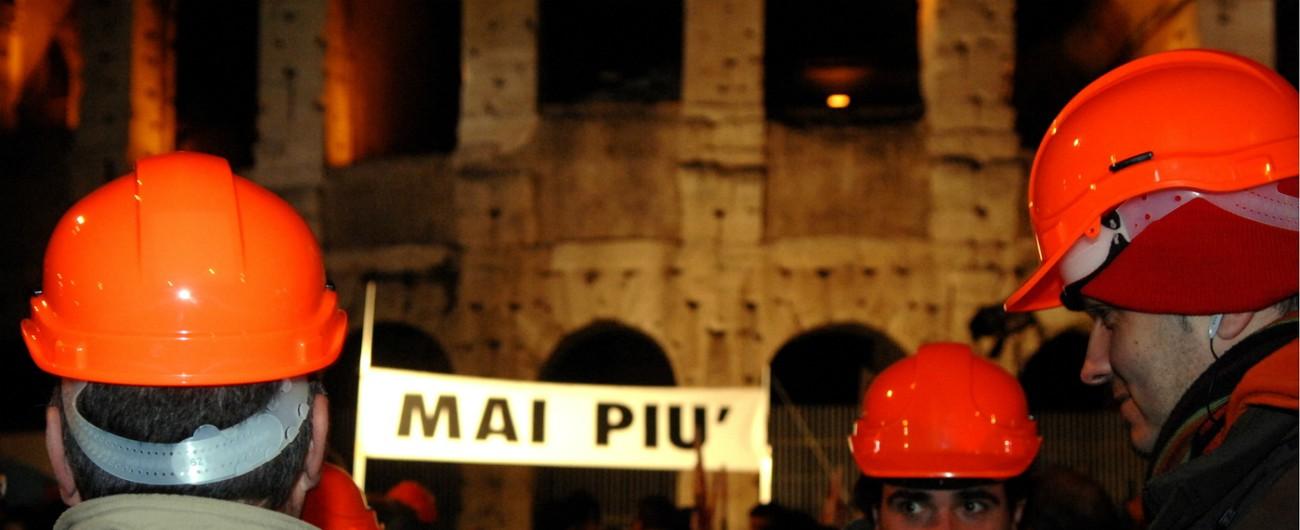Incidenti sul lavoro, aumentano i morti. Picco di infortuni nelle città del Sud. Malattie cancerogene: in testa c'è Taranto