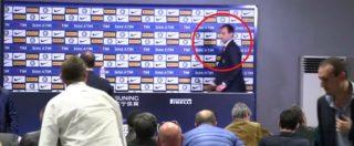Lite Adani-Allegri, l'allenatore della Juventus è furibondo in conferenza stampa. E Spalletti ci scherza su