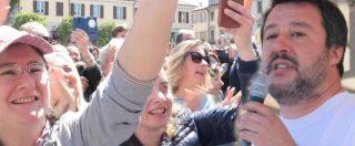 """Cantù, Salvini fa il comizio nella piazza della 'ndrangheta e 'dimentica' di citarla. E i cittadini: """"Di questo non parliamo"""""""