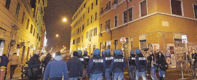 Roma, fuga da San Lorenzo: nel deserto resta lo spaccio