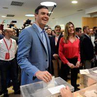 Sanchez al voto