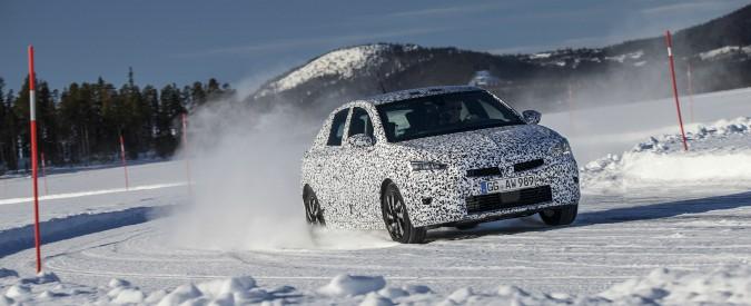 Opel Corsa, in Lapponia proseguono i test della sesta generazione a firma PSA