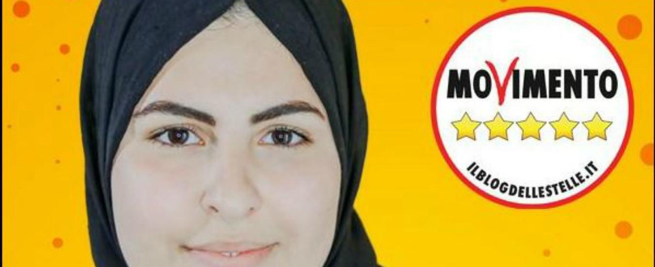 """Avellino, insulti in rete a candidata M5s con il velo: """"Aiuto. Leggete il Corano"""". La deputata Ascari: """"Siamo con lei"""""""