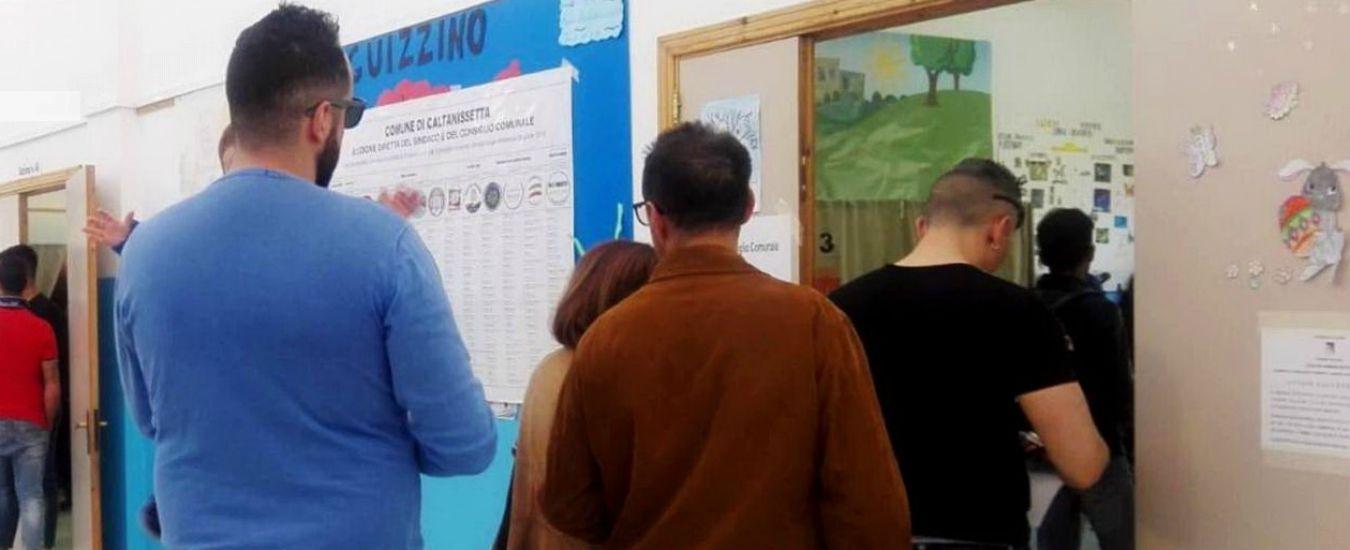 Comunali Sicilia, alle 19 affluenza per il ballottaggio al 32,6%. Tredici punti sotto i dati del primo turno