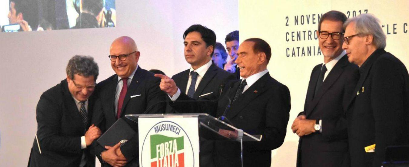 """Le elezioni in Sicilia riesumano il Patto del Nazareno. Forza Italia: """"I moderati hanno bisogno di stare insieme"""". E il Pd tace"""