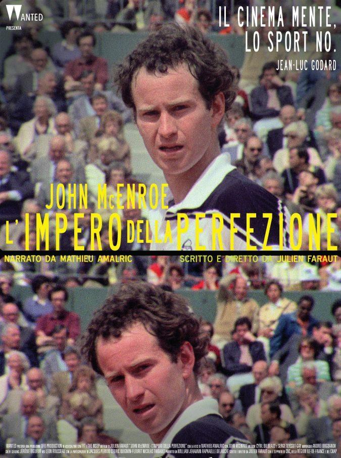 John McEnroe – L'impero della perfezione, tennis e cinema non si sono mai parlati così bene
