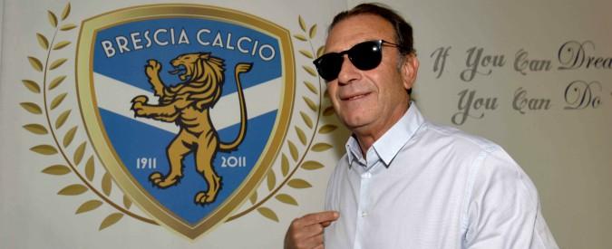 Brescia dopo 8 anni in Serie A, il ritorno di Cellino: sgradito e rimbalzato in Inghilterra, trionfatore in Italia