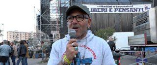 """1 maggio Taranto, l'operaio Ilva: """"Accordo di settembre è stata una violenza, nostra vita vale più dio 70mila euro"""""""
