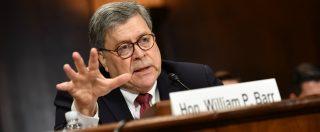 """Russiagate, i Dem chiedono dimissioni attorney general Barr dopo testimonianza al Senato: """"Volutamente ingannevole"""""""