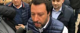 """Siri indagato, Salvini incalzato dai giornalisti evita di rispondere: """"Polemiche le fanno altri, chiedetelo a Conte"""""""