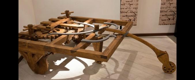 Veicoli autonomi, Leonardo da Vinci li aveva già immaginati oltre 500 anni fa