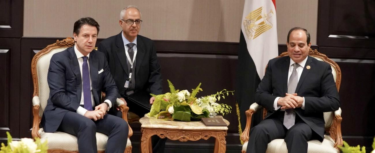 Regeni, Conte telefona ad al-Sisi: segnalata una richiesta di rogatoria da parte della Procura di Roma