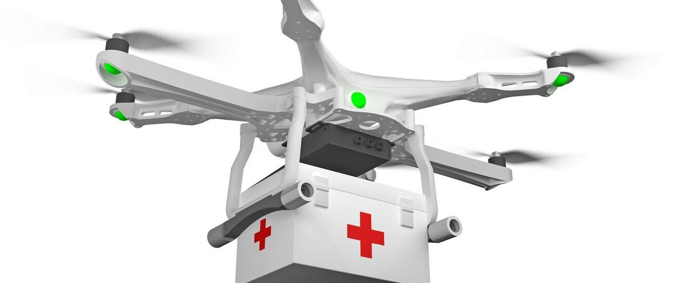 Drone consegna per la prima volta un rene che è stato trapiantato con successo