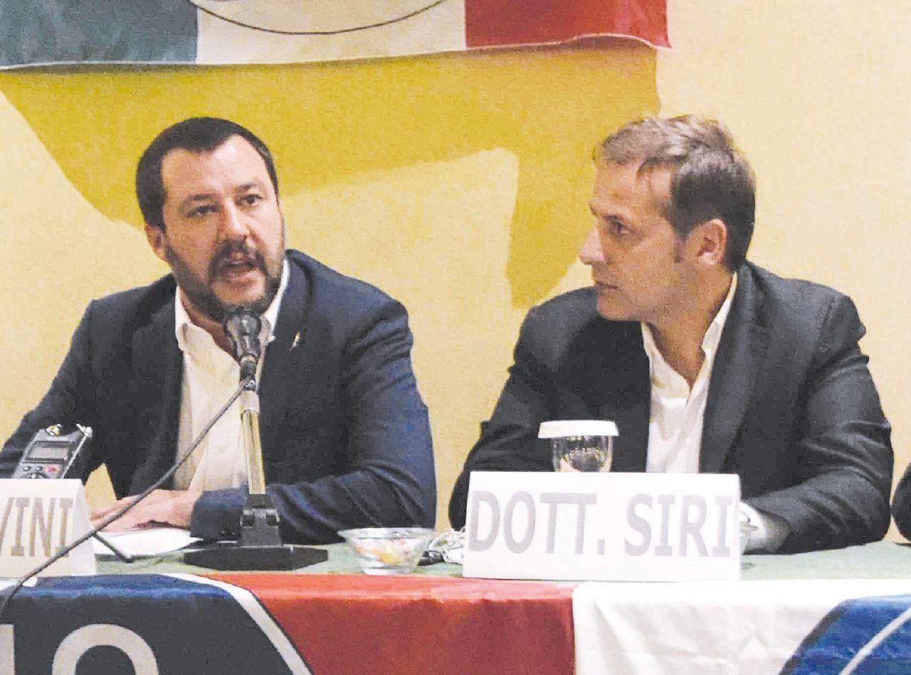 Sul Fatto del 5 Maggio – Per cacciare Siri bastano Conte e Toninelli. Salvini si arrende
