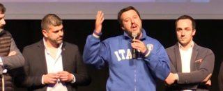 """Salvini: """"Il mio 'tappatevi la bocca'? Era riferito a tutti. Un conto sono le critiche, un conto le minacce di morte"""""""