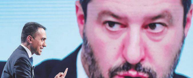 """Salvini: """"M5S taccia"""". Di Maio: """"Se ne vada"""""""