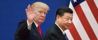 """Dazi, scatta aumento Usa su beni cinesi. Pechino annuncia contromisure e Trump abbassa i toni: """"Colloqui cordiali"""""""
