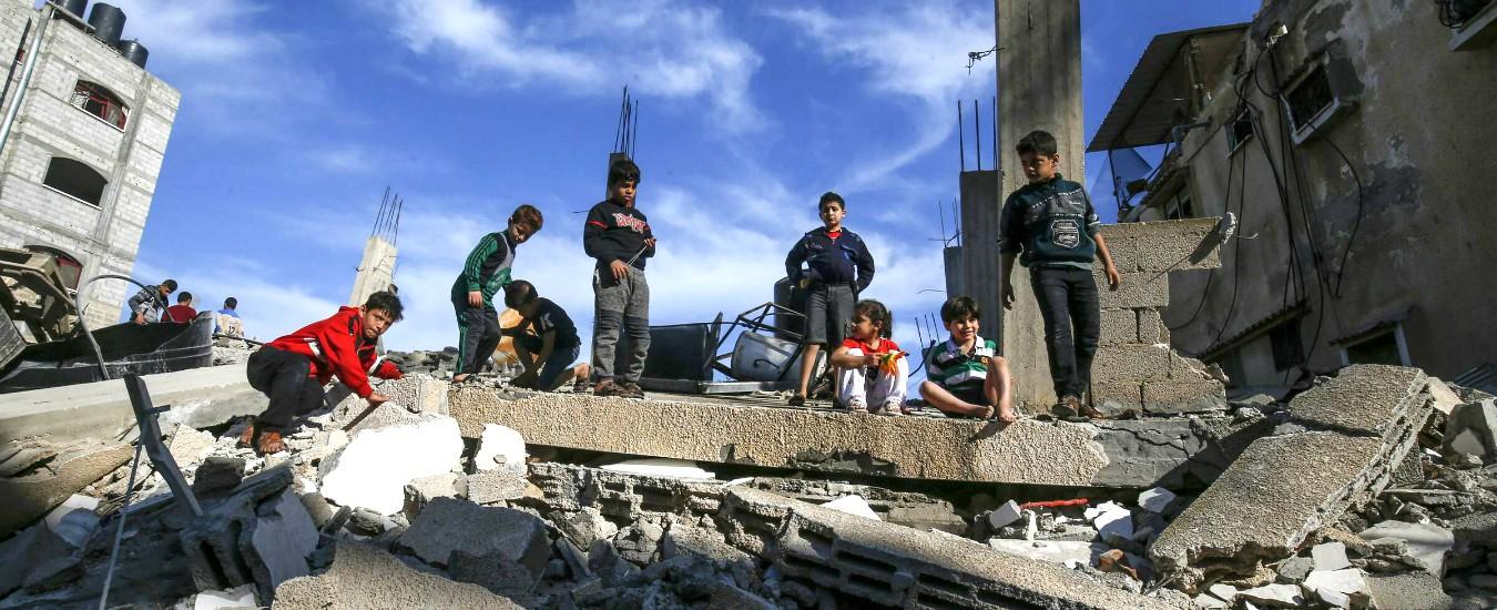 Gaza, in vigore il cessate il fuoco tra Israele e Hamas. In due giorni di bombardamenti 29 morti e 170 feriti