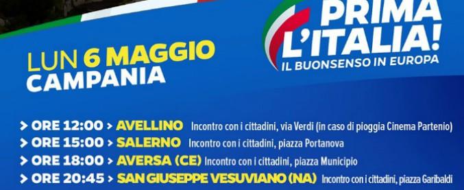 """""""Venite in piazza da Salvini"""": il messaggio vocale inviato dal sindaco ai cittadini con il numero del Comune. Lui: """"A costo zero"""""""
