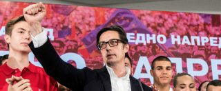 Macedonia del Nord, il centrosinistra vince le elezioni presidenziali: sconfitto il partito nazionalista dell'ex capo di Stato