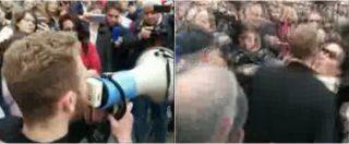 """Napoli, al sit-in anticamorra anche il figlio del boss Rosario Piccirillo: """"Rinnego mio padre. La camorra fa schifo"""""""
