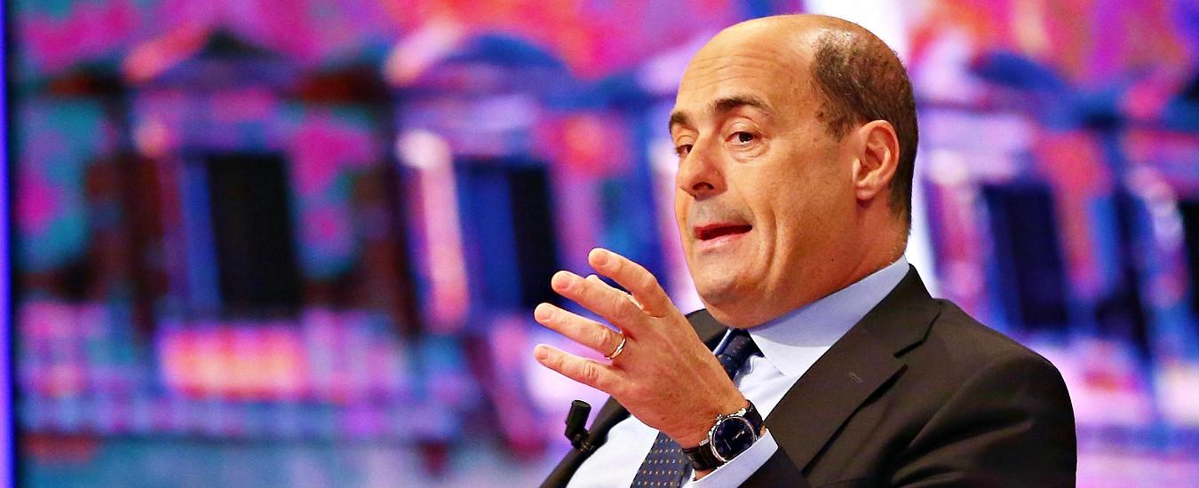 """Indennità, Zingaretti difende la proposta (poi ritirata) di Zanda: """"Se gli stipendi sono bassi, la politica la fanno solo ricchi"""""""