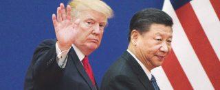 Borse in calo per la guerra Usa-Cina sui dazi