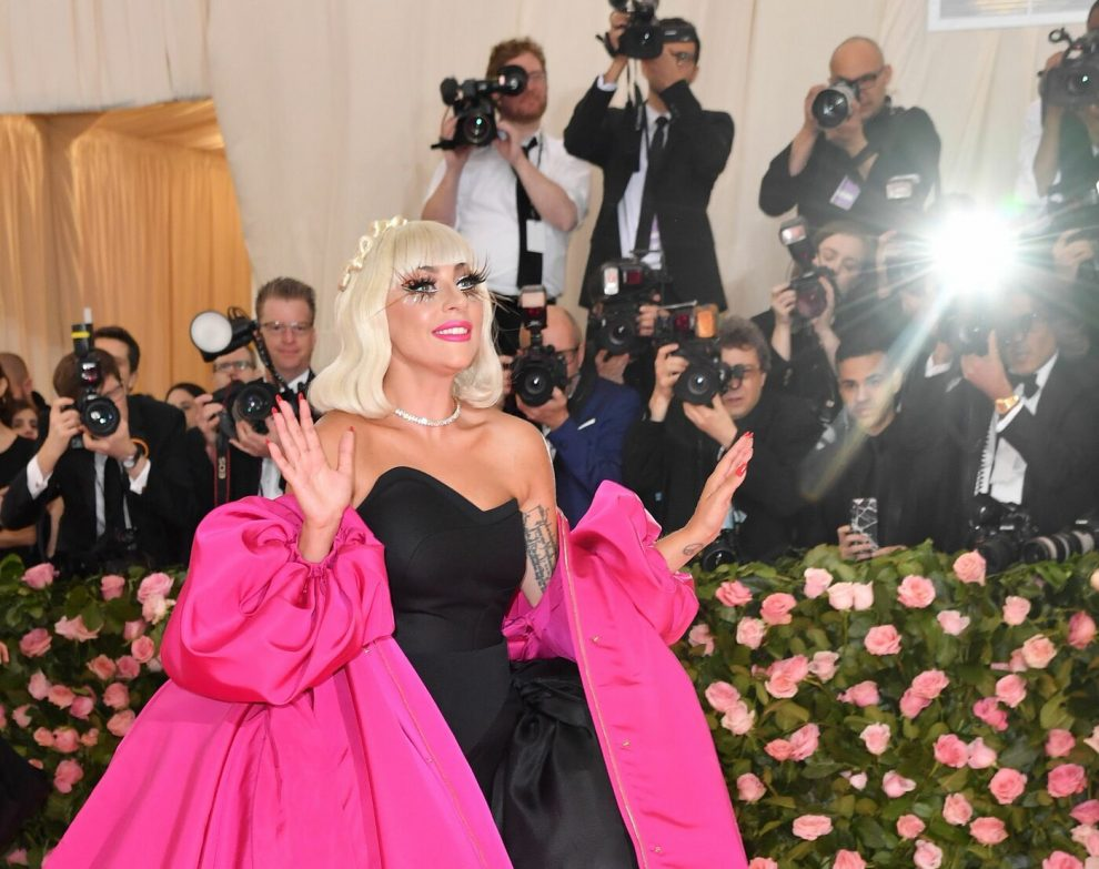Singer/actress Lady Gaga arrives for the 2019 Met Gala