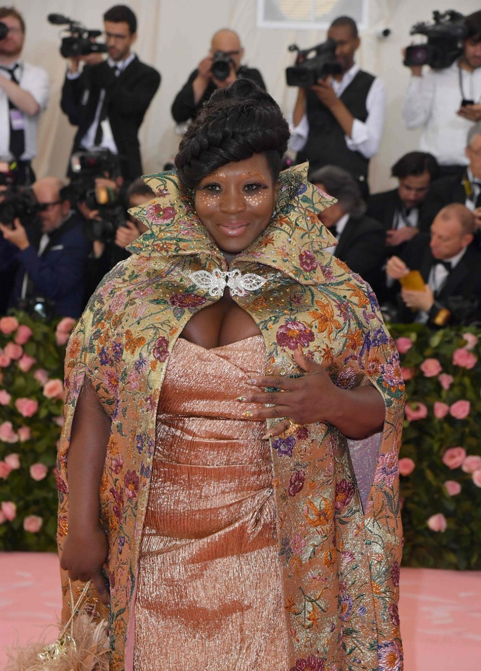 US television personality Bevy Smith arrives for the 2019 Met Gala