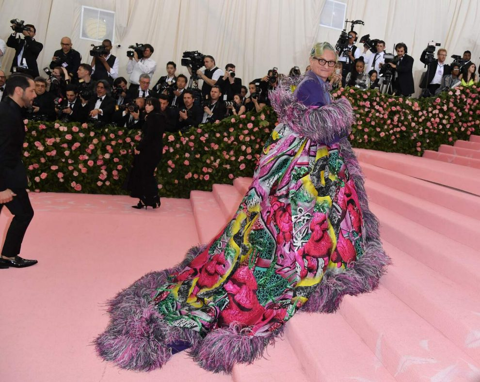 Journalist Hamish Bowles arrives for the 2019 Met Gala