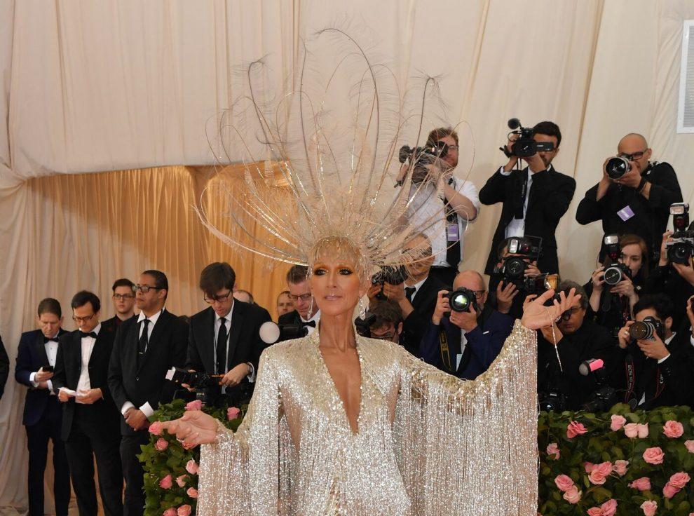 Canadian singer Celine Dion arrives for the 2019 Met Gala