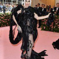 US drag queen Aquaria  arrives for the 2019 Met Gala