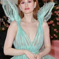 US actress Madelaine Petsch arrives for the 2019 Met Gala