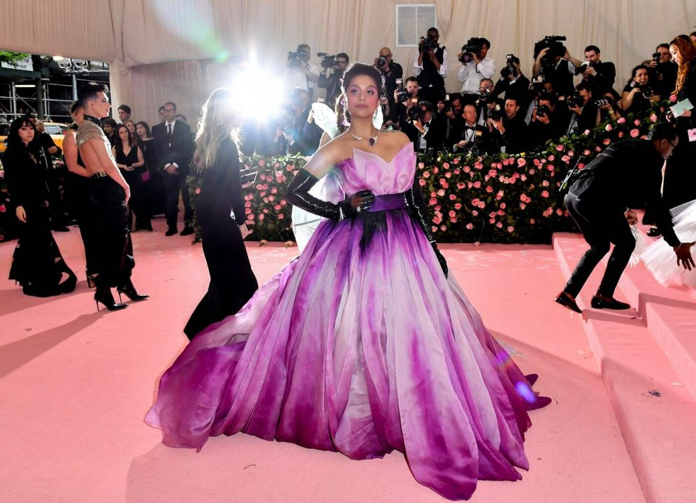 Actress/YouTuber Lilly Singh arrives for the 2019 Met Gala